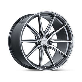 Vossen HF-3: Цвет Gloss Graphite Polished